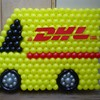 DHL Balloon decoration
